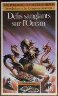 LDVELH - DEFIS FANTASTIQUES - 16 - Défis Sanglants Sur L'océan - Gallimard 1995 - Jeux De Société