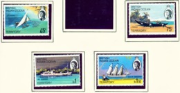 BRITISH INDIAN OCEAN TERRITORY  -  1969 Island Ships Set Unmounted/Never Hinged Mint - Territorio Britannico Dell'Oceano Indiano