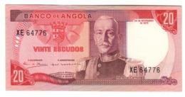 ANGOLA20ESCUDOS1972P99UNC.CV. - Argelia