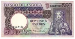 ANGOLA500ESCUDOS1973P107UNC-.CV. - Argelia