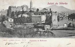 Lazio - Viterbo - Saluti Da Viterbo - Panorama Da Bullicame- - Viterbo