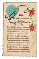 """"""" LES COMMANDEMENTS DE SAINTE-CATHERINE """" - Réf. N°22949 - - Sainte-Catherine"""
