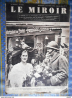 LE MIROIR 19/11/1939 N12 LA GUERRE ALSACE ALLIES MUSIQUE MILITAIRE HYDRAVION - Magazines & Papers