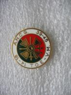 Pin's Anciens Militaires - ANCG 14/18 - T.O.E. - V.M. - 39-45 - Militaria