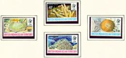 BRITISH INDIAN OCEAN TERRITORY  -  1972 Coral Set Unmounted/Never Hinged Mint - British Indian Ocean Territory (BIOT)