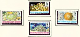 BRITISH INDIAN OCEAN TERRITORY  -  1972 Coral Set Unmounted/Never Hinged Mint - Territorio Britannico Dell'Oceano Indiano
