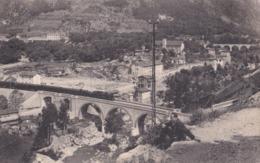 S. DALMAZZO DI TENDA (CN) - Valle Roia - Panorama - F/P - V: 37 - Treno - Andere Steden