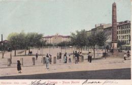 LIVORNO - Piazza Mazzini- F/P - V: Primi '900 - Animata - Livorno