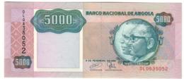 ANGOLA5000KWANZAS1991P130UNC.CV. - Angola