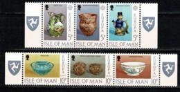 Man 1976 EUROPA Yv. 75/80**,  Mi 82/87** MNH - Man (Ile De)