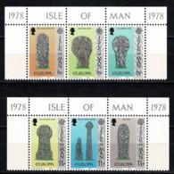 Man 1978 EUROPA Yv. 120/25**,  Mi 122/27** MNH - Man (Ile De)