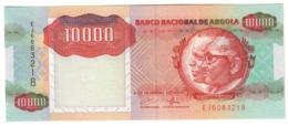 ANGOLA10000KWANZAS1991P131UNC.CV. - Angola
