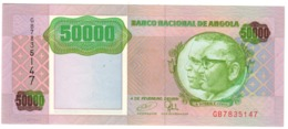 ANGOLA50000KWANZAS1991P132UNC.CV. - Angola