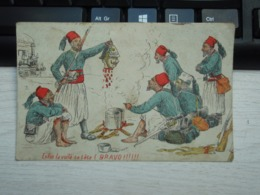 Cpa Enfin La Voilà Sa Tête (Bravo!!!!!! Turcos - Weltkrieg 1914-18