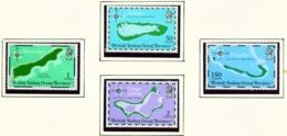 BRITISH INDIAN OCEAN TERRITORY  -  1975 Maps Set Unmounted/Never Hinged Mint - British Indian Ocean Territory (BIOT)