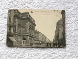 Leuven  Statiestraat  -  Schouwburg     1919 - Leuven