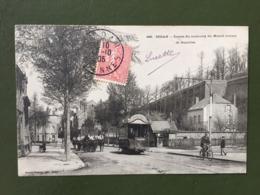 SEDAN-  Entrée Du Faubourg Du Mesnil Venant De Bazeilles - Sedan