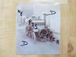 VOITURE DE DION BOUTON 1911 - PHOTO ORIGINALE AUTOMOBILE VOITURE - Cars