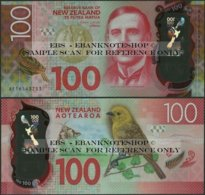 New Zealand,100 Dollars,P195,B141,2016 ,Uncirculated,Polymer - Nieuw-Zeeland