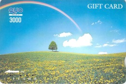 FLEUR - FLOWER - PAYSAGE - PRAIRIE - CAMPAGNE - NATURE - LANDSCAPE - ARBRE - FORET - BOIS - Carte PrépayéeJapon - Fleurs