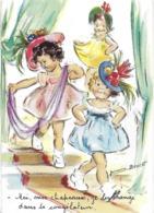 ILLUSTRATRICE GERMAINE BOURRET  MOI MES CHAPEAUX ... CONGÉLATEUR SÉRIE 5404 4/3 EDIT. MD - Bouret, Germaine