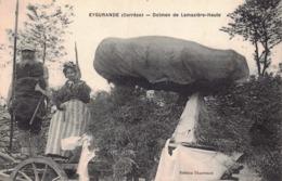 DOLMEN Et MENHIR - Dolmen De LAMAZIERE HAUTE  à EYGURANDE ( Correze ) - Dolmen & Menhirs