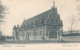 CPA - Belgique - Tournai - L'entrepôt - Tournai