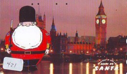 Télécarte Japon * ANGLETERRE * ENGLAND * LONDON * (421) GREAT BRITAIN RELATED * Phonecard Japan - Cultura