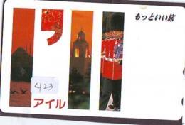 Télécarte Japon * ANGLETERRE * ENGLAND * LONDON * (423) GREAT BRITAIN RELATED * Phonecard Japan - Cultura