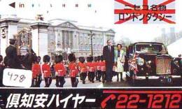 Télécarte Japon * ANGLETERRE * ENGLAND * LONDON * (428) GREAT BRITAIN RELATED * Phonecard Japan - Cultura