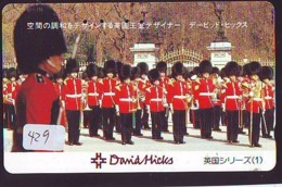 Télécarte Japon * ANGLETERRE * ENGLAND * LONDON * (429) GREAT BRITAIN RELATED * Phonecard Japan - Kultur