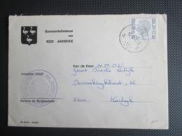 1744P5 - Elström - Gemeentebrief Uit Jabbeke - 1970-1980 Elström