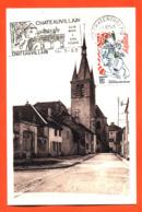 """Carte Postale Philatelique Chateauvillain Foyer Des Jeunes 14/03/1983 """" Rue Amiral Decrés """" - Cartas Máxima"""