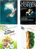 CARTES PUBLICITAIRES / Lot De 725 Cartes Neuves - Cartes Postales