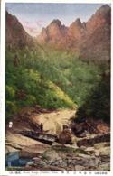 North Korea Coree, Mount Kongo, Kumgang Mountains (1910s) Postcard (3) - Korea, North