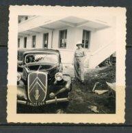 CITROEN TRACTION 15/6 AVANT 1952 - VEHICULE REQUIQITIONNE PAR 18 E REGION BORDEAUX - GENDARMERIE PREVOTALE - GUADELOUPE. - Auto's