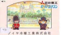 Télécarte Japon * ANGLETERRE * ENGLAND * LONDON * (431) GREAT BRITAIN RELATED * Phonecard Japan - Cultura