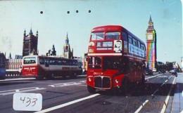 Télécarte Japon * ANGLETERRE * ENGLAND * LONDON * (433) GREAT BRITAIN RELATED * Phonecard Japan - Cultura