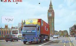 Télécarte Japon * ANGLETERRE * ENGLAND * LONDON * (434) GREAT BRITAIN RELATED * Phonecard Japan - Cultura