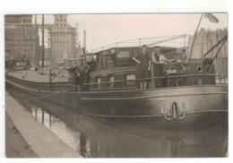 Temse  TEMSCHE  TAMISE  Binnenvaartschip PITTORESOUG V.WAUTERS  Oude Fotokaart - Temse