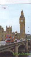 Télécarte Japon * ANGLETERRE * ENGLAND * LONDON * (435) GREAT BRITAIN RELATED * Phonecard Japan - Cultura