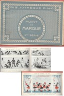 BIBLIO DMC - POINT DE MARQUE  11e Série - Juillet 1930 - POINT DE CROIX - Nombreux ALPHABETS,MONOGRAMMES,MOTIFS - Stickarbeiten