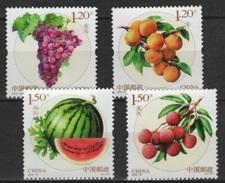 China (2016) - Set - #18  /  Fruits - Frutas - Fruits