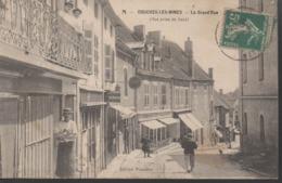 COUCHES  LES MINES__LA GRANDE RUE__VOIR SCAN - Autres Communes