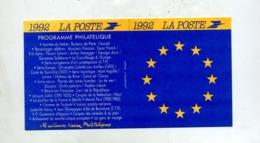 Calendrier 1992 - Postdokumente