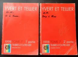 CATALOGUE 1998  Timbres  D'OUTREMER  Volume 7  1 Ière Et 2 Ième  Partie   D' OCEAN INDIEN à ZOULOULAND - France