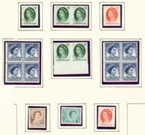 AUSTRALIA  -  1959-63 Page Of Unmounted/Never Hinged Mint - 1952-65 Elizabeth II : Pre-Decimals