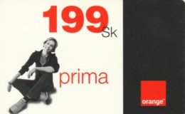 PREPAID PHONE CARD SLOVACCHIA-ORANGE (PK1928 - Slowakije