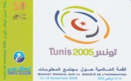 PREPAID PHONE CARD TUNISIA (PK1937 - Tunisia
