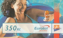 PREPAID PHONE CARD REPUBBLICA CECA (PK1985 - Tsjechië